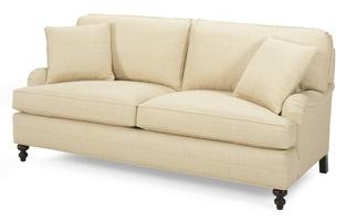 Transitional, Sofas, Two Cushion Sofas