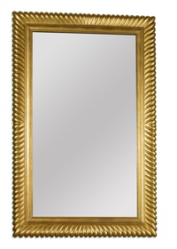 EJ Victor Mirror in Gold Gilt