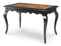 Antique Blackwash with Leather Top 610