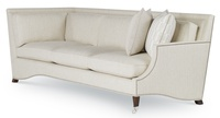 Gloria Sectional - LAF/RAF Sofa with Built in Corner