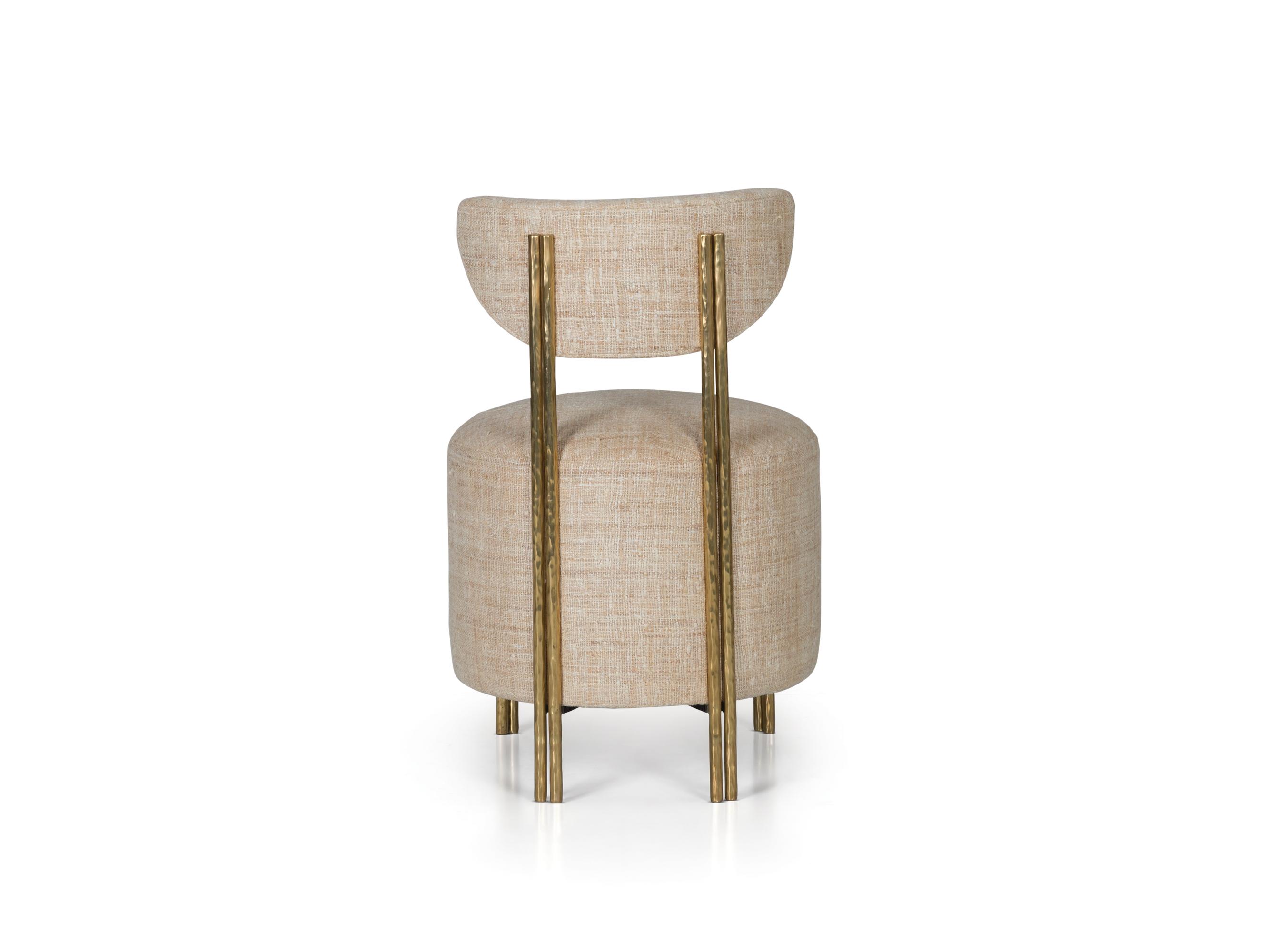 Cool Melange Vanity Stool Ej Victor Creativecarmelina Interior Chair Design Creativecarmelinacom