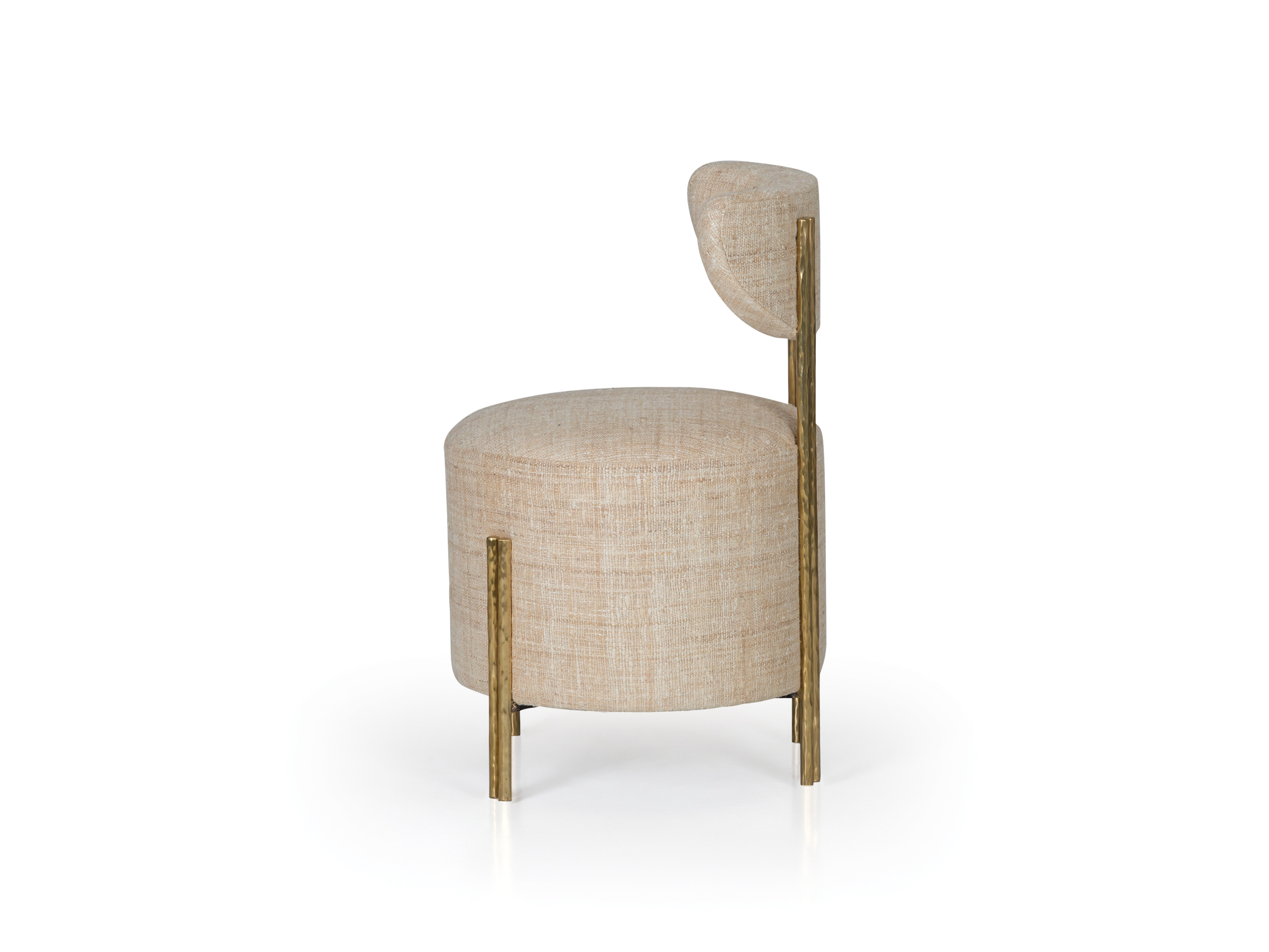 Awesome Melange Vanity Stool Ej Victor Andrewgaddart Wooden Chair Designs For Living Room Andrewgaddartcom