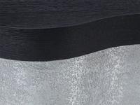 Ebonized Wirebrushed Oak Detail
