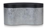 Ebonized Wirebrushed Oak Front
