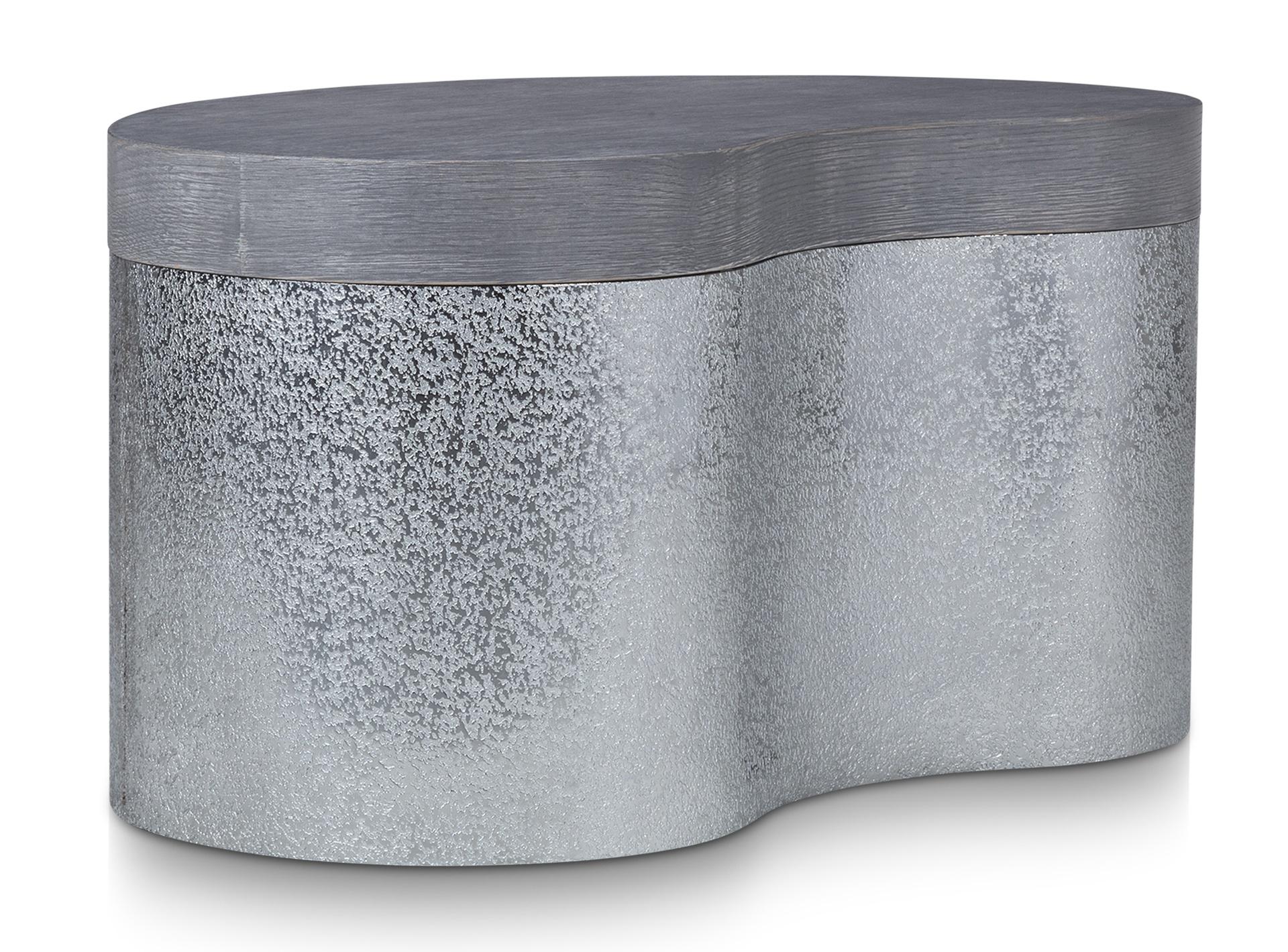 Grey Wirebrushed Oak Angle