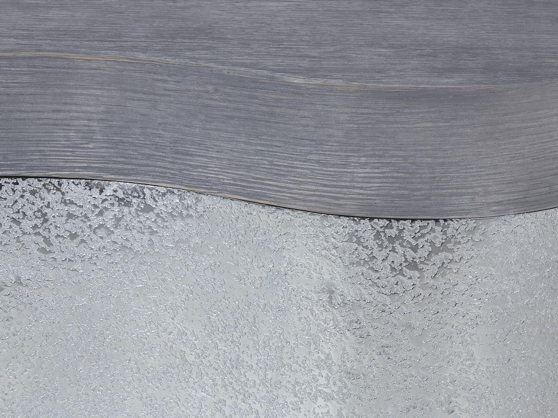 Grey Wirebrushed Oak Detail