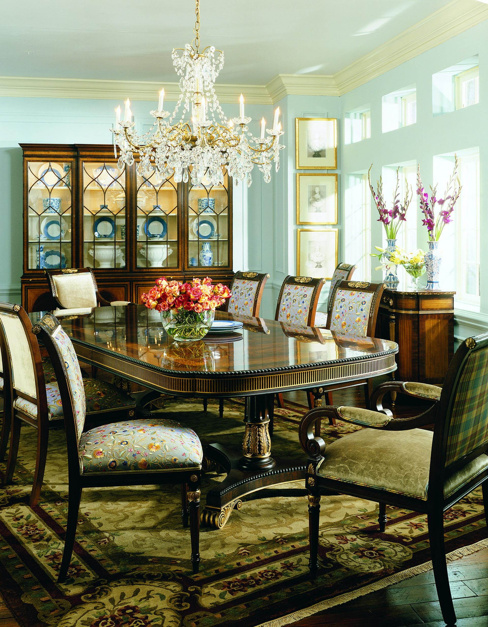 Surprising Regency Dining Table Ej Victor Cjindustries Chair Design For Home Cjindustriesco